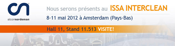 Alcornordeman en Issa Interclean 2012